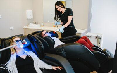 The In-Chair Teeth Whitening Process